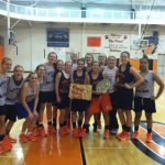 Girls Basketball Team Celebrates Freshmen Abbie Pearce's Birthday