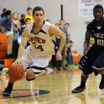 Green Basketball Tops Copley 53-48