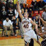 Green High School Basketball Varsity Boys beats Copley Senior High School 53-48
