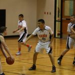 7th Grade Hoopers Hang On To Stay Undefeated