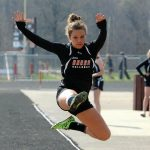 Girls Track defeats Revere 71-66