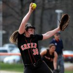Green Varsity Softball bounces back with win over Wadsworth.