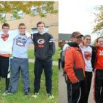 Green Cross Country Teams Advance to Regionals (placing 3rd, 4th at Malone District Meet)