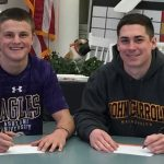 GHS Seniors Hillman & Montgomery make it official; Commit to play collegiately