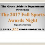 2017 Fall Sports Awards Night Information