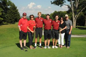 Boys Golf Senior Night