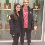 Congratulations to Mia Zivkovic and Megan Baker