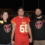 Bees Football Senior Night