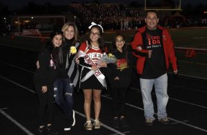 Fall Cheerleading Senior Night