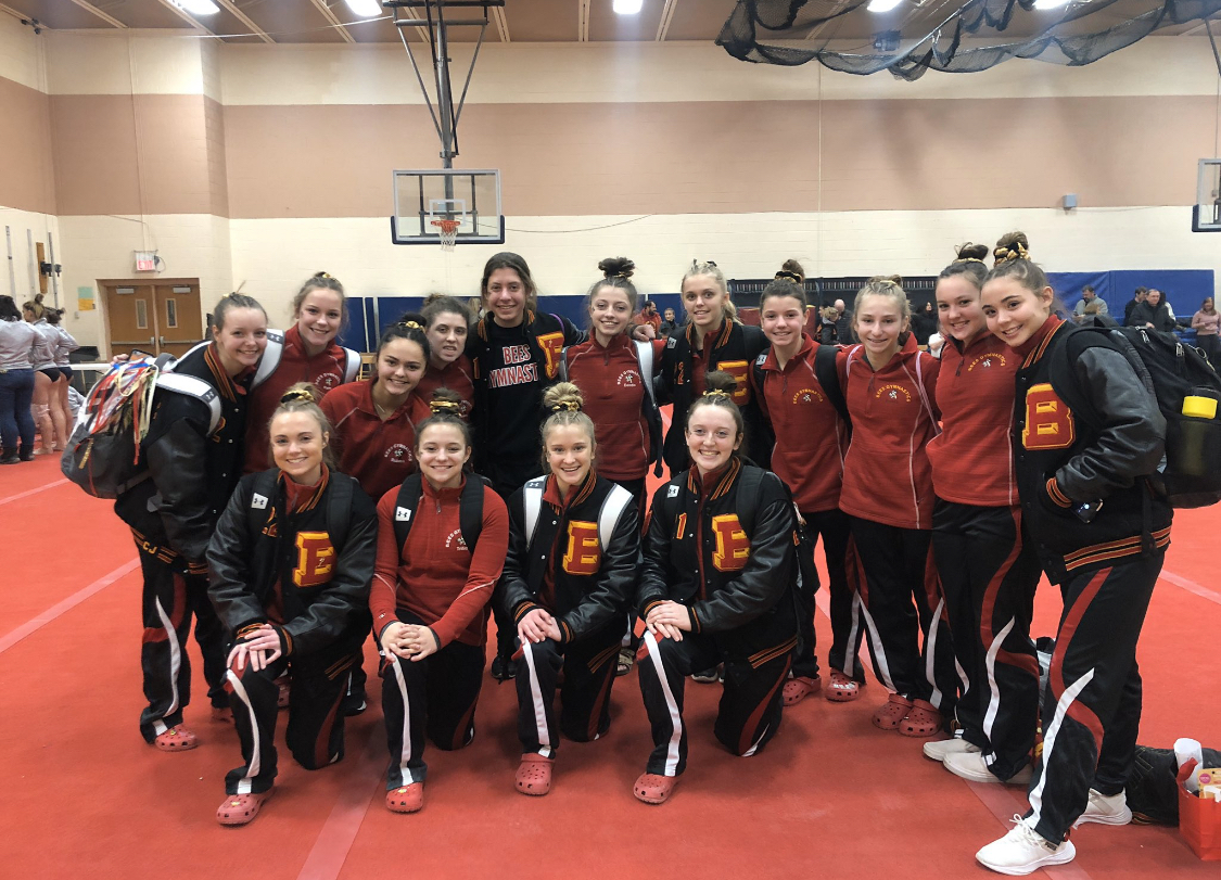 Gymnastics takes First at West Geauga Competition!