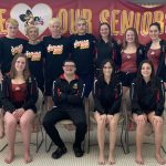 Bees Swimming Beat North Royalton on Senior Night