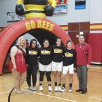 Girls Basketball beat North Royalton on Senior Night
