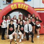 Senior Night for Boys Basketball, Cheer, and Honeybees