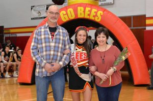 Winter Cheerleading Senior Night