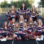 2019-2020 Cheer team