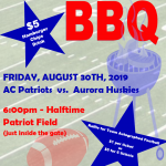 Booster Club Football BBQ