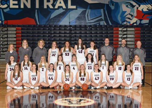 Girls Basketball Team Picture