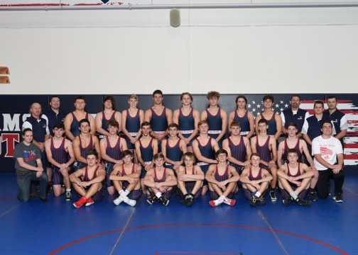 Wrestling Team Picture and Event