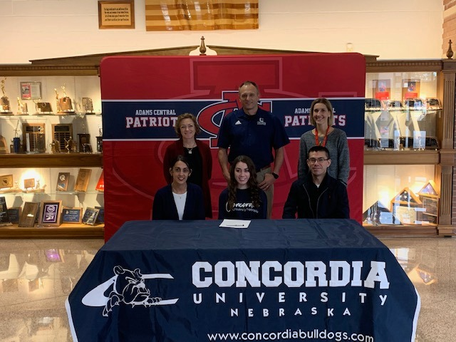 Grace Reiman signs with Concordia