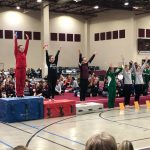 King wins All-Around Sectional Gymnastics Title