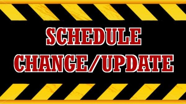 SC Schedule Update