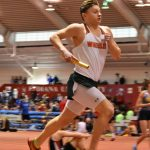 Boys Track finishes up a strong indoor campaign in Bloomington