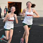 Girls Varsity Track keep on rolling against Bowman/Lighthouse