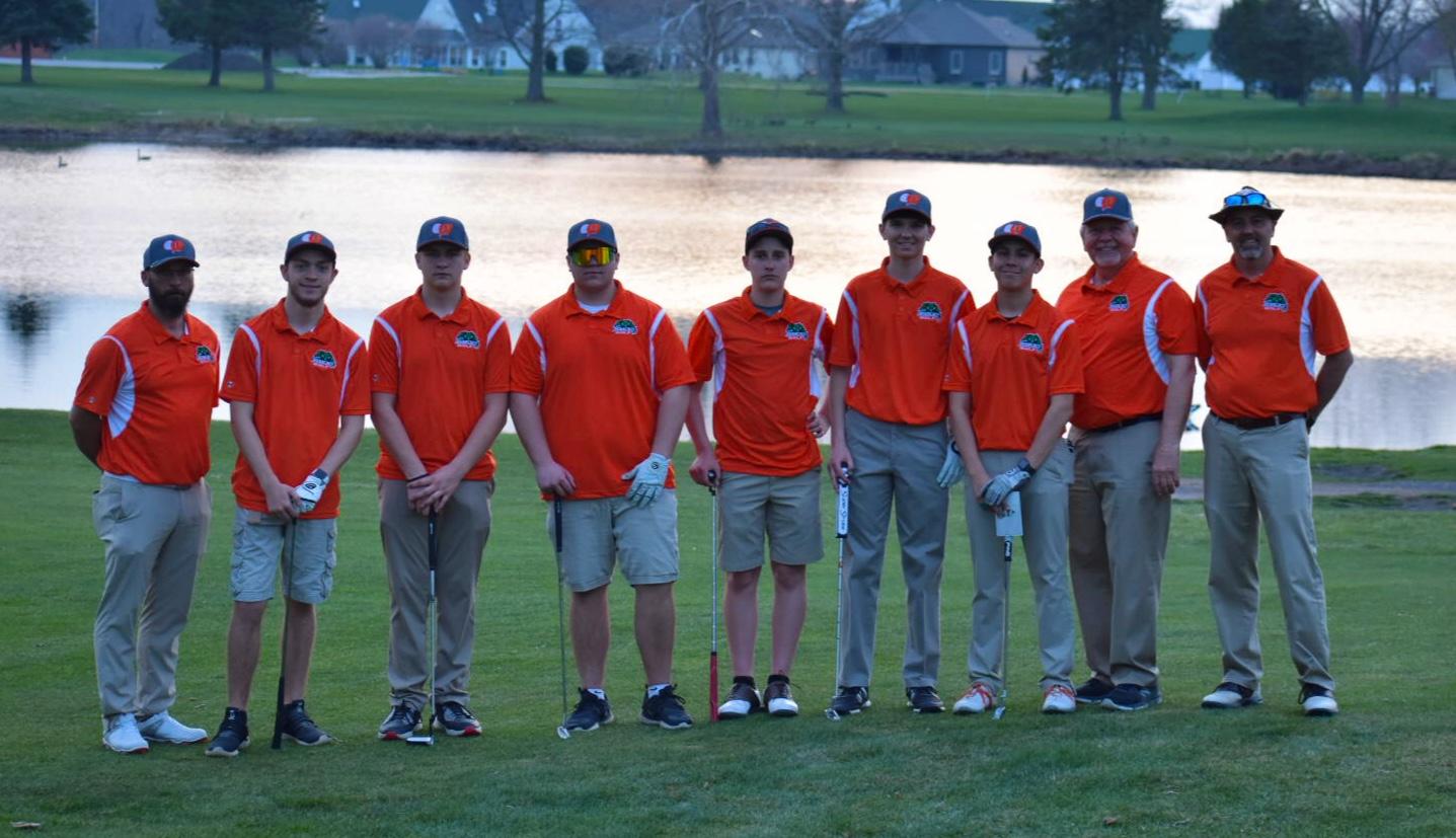 Boys Golf Team 2020/2021