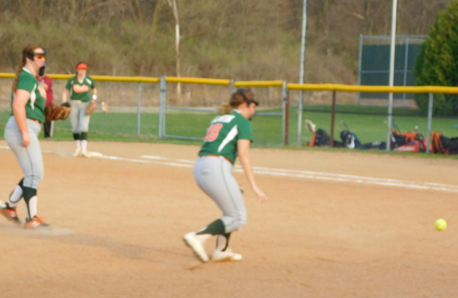 Wheeler softball vs Hanover April 6