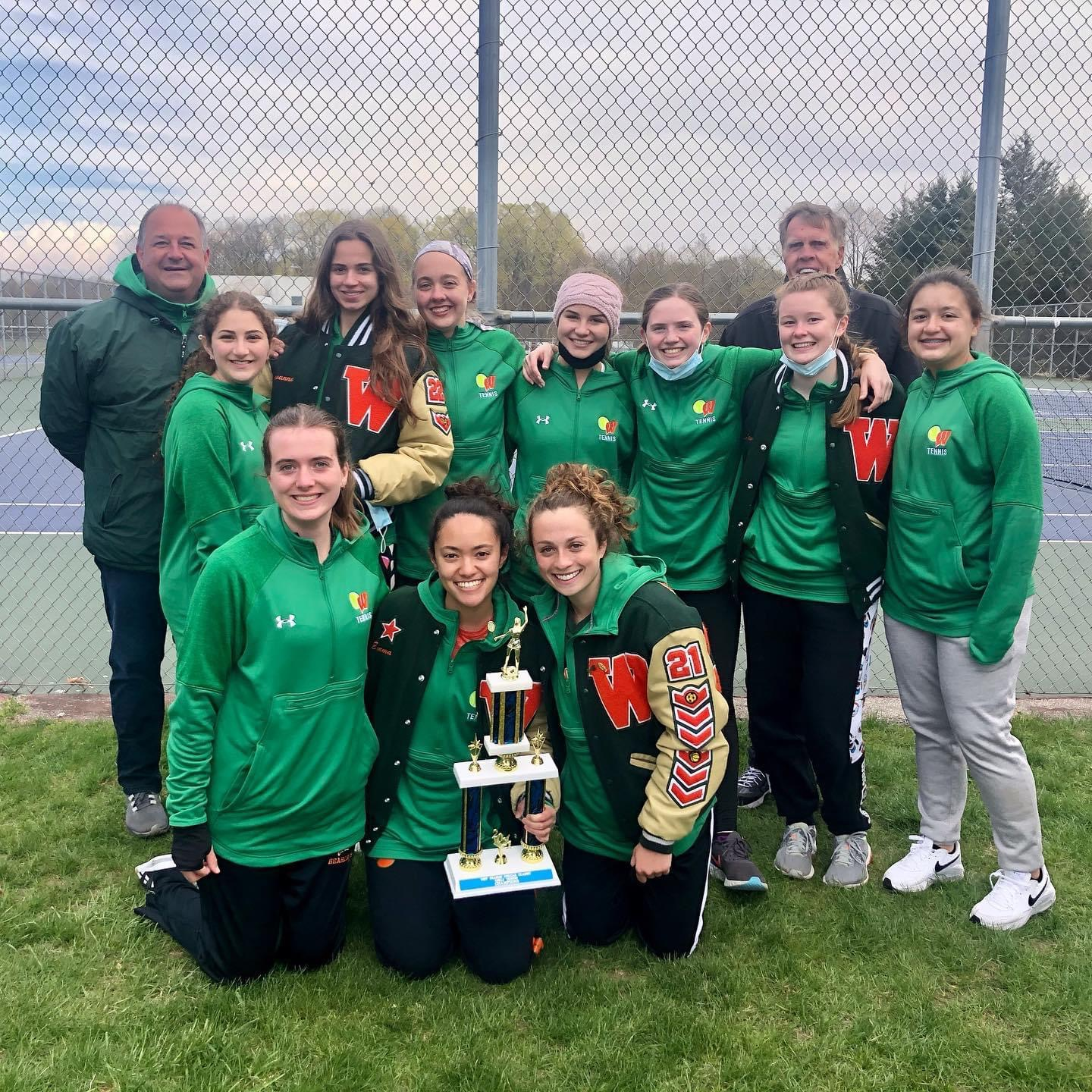 Congratulations to Our Girls Varsity Tennis team on their Championship win over the weekend!