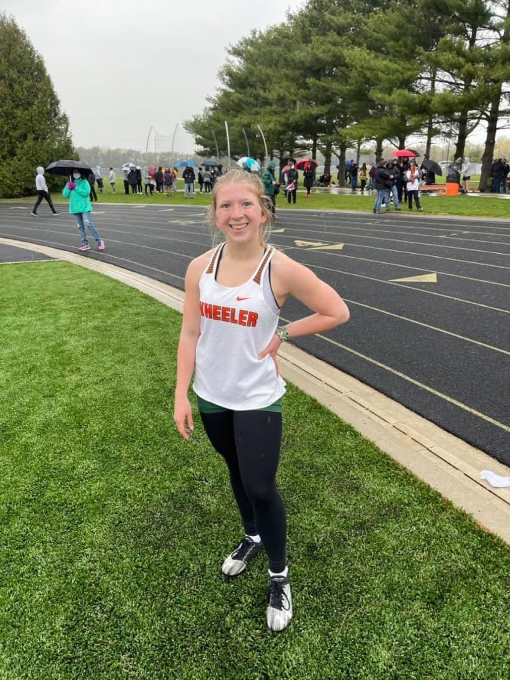 Sophomore London Holm is having a breakout season in Girls Track & Field!