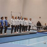 Gymnastics Team Set Personal Bests