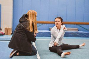 Gymnastics vs Lake Central
