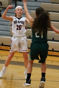 JV Girls Basketball 1-15-19