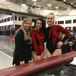 Varsity Gymnastics finishes 3rd place; Celebrate Senior NIght