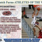 Dustin Hudak – Dutch Farms Athlete of the Week