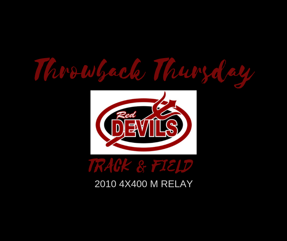 THROWBACK THURSDAY – BOYS TRACK