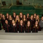 Girls Swim Team Honored