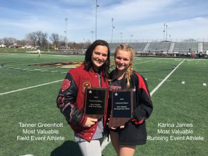 2015 Girls Track at Chesterton Relays