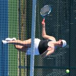 Girls Varsity Tennis beats Griffith 5 – 0