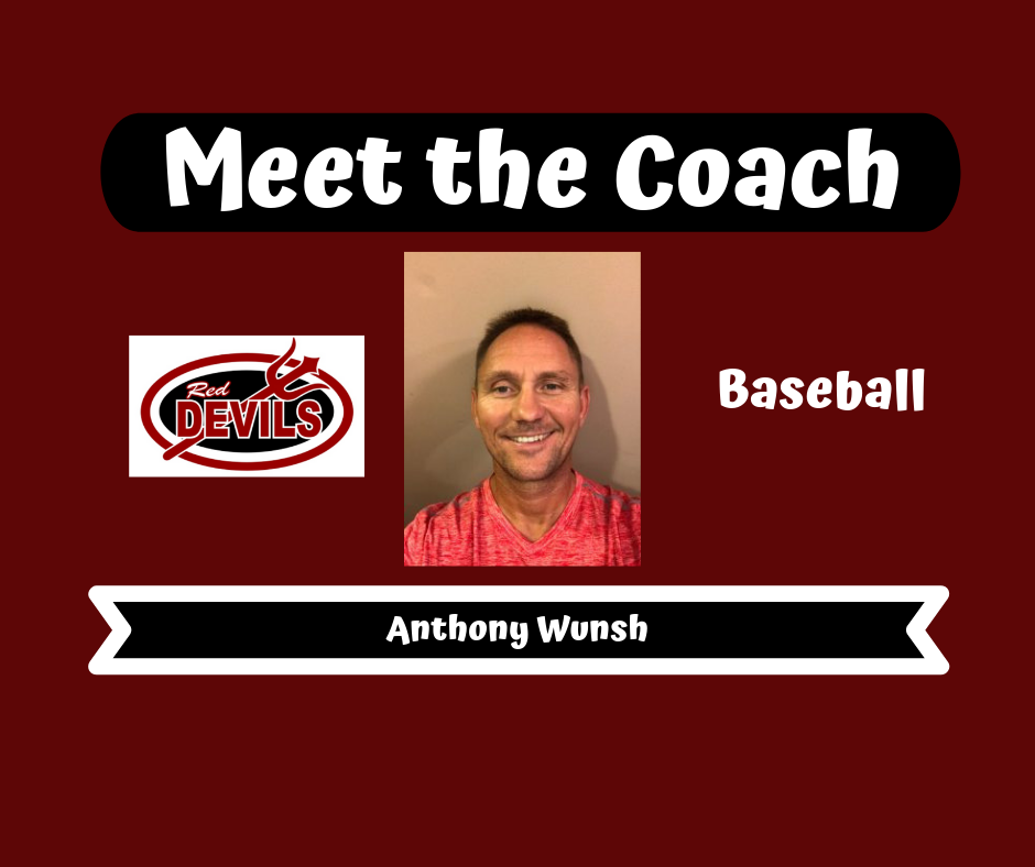 Meet the Coach – Anthony Wunsh