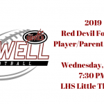 2019 Football Player/Parent Call Out Meeting