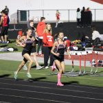 Changing of the Guard - Girls Track Beats Munster