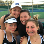 Girls Varsity Tennis falls to Lake Central 5 – 0
