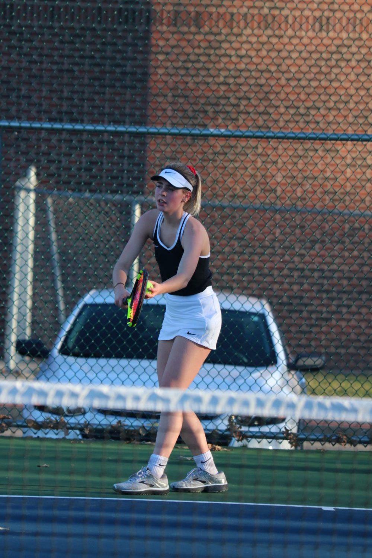 Girls Tennis Earn NCC Honors