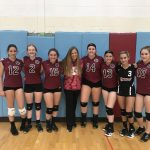 Freshman Volleyball beats Hanover Central  2 – 1