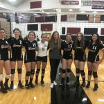 Freshman Volleyball beats Highland 2 – 0