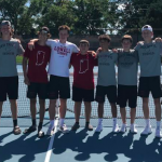 Boys Varsity Tennis finishes 5th place at Crawfordsville Tourney