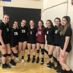 Junior Varsity Volleyball beats Griffith Senior 2 – 0