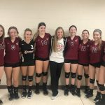 Freshman Volleyball beats Michigan City 2 – 1 in first game of Boone Grove Invite